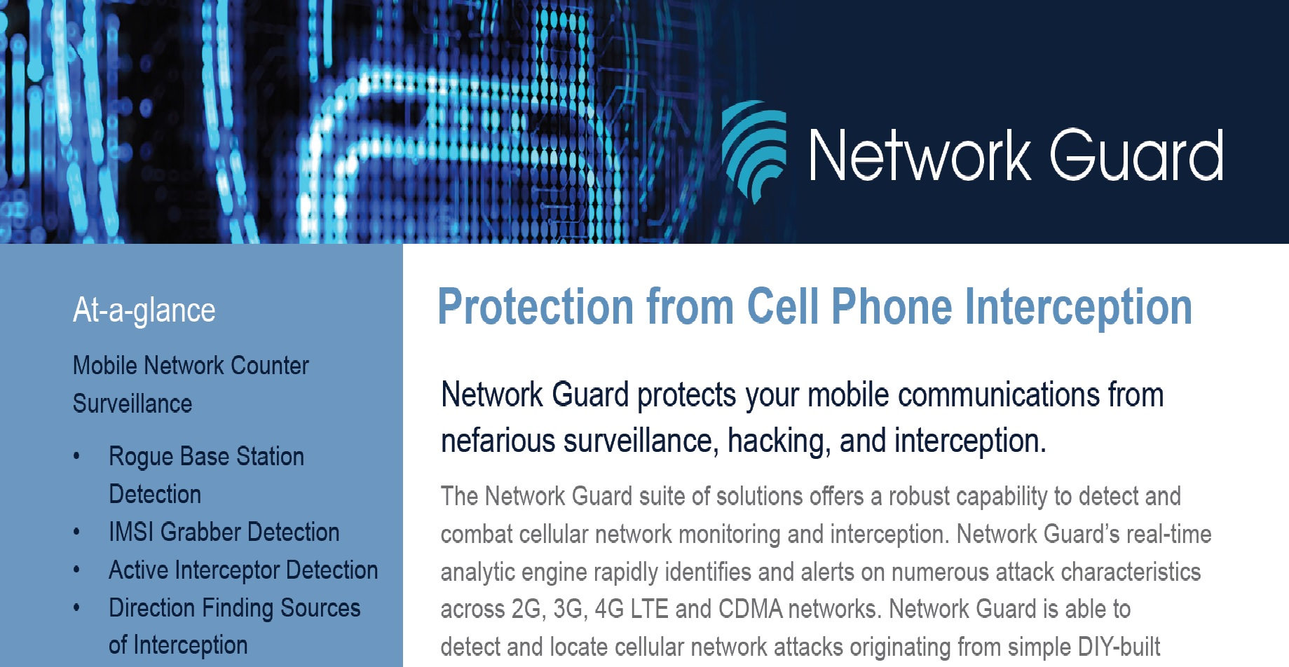 Network Guard Mobile Security Suite | Charon Technologies